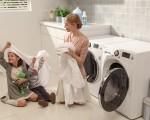 Mách nhỏ cách vệ sinh máy giặt lồng ngang