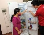 Công suất tiêu thụ điện tủ lạnh ra sao?