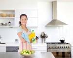 Diệt khuẩn cho lò vi sóng, tủ lạnh từ quả chanh