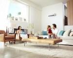 Nhà nhiều cửa kính bất lợi khi dùng máy lạnh